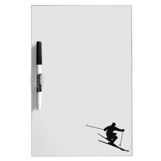 Skier Dry Erase Board