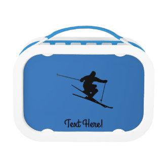 Skier Lunch Box