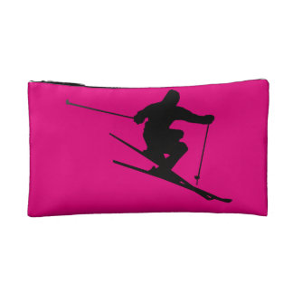 Skier Makeup Bag