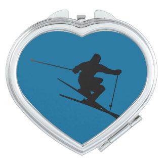 Skier Makeup Mirror