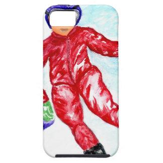 Skier Sport Illustration iPhone 5 Case