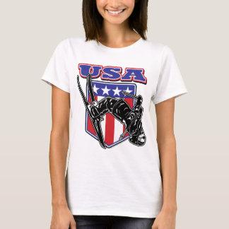 Skier USA T-Shirt