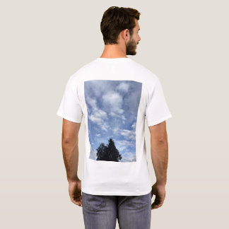 Skies Over the Palouse T Shirt 2 trees and clouds