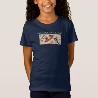 Skies the Limit Inspire Hummingbird Girls Shirt