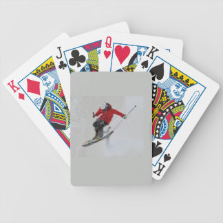 Skiing Bicycle Playing Cards
