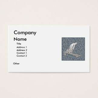 Skiing Business Card