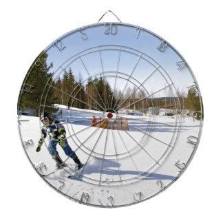 skiing dartboard