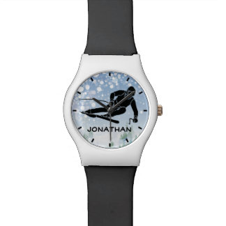Skiing Design Watch