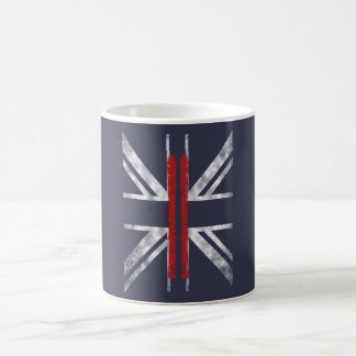 SKIING FLAG COFFEE MUG