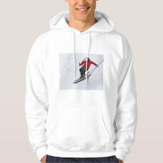 Skiing Hoodie