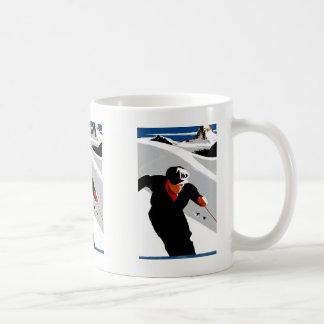 Skiing in the Rockies Coffee Mug