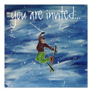 Skiing invitation