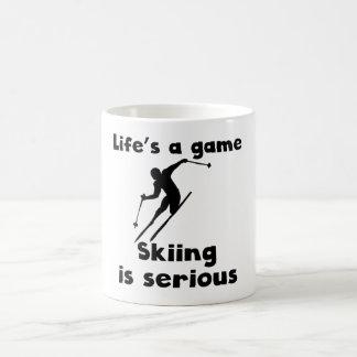 Skiing Is Serious Mugs