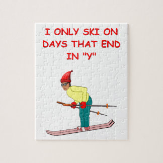 skiing joke puzzle