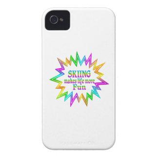 Skiing More Fun Case-Mate iPhone 4 Case