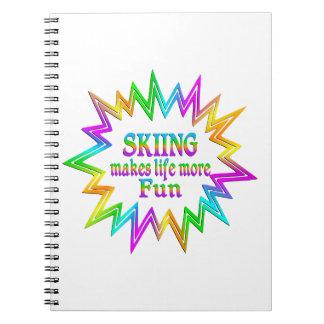Skiing More Fun Notebooks