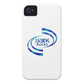 Skiing Rocks iPhone 4 Case-Mate Case