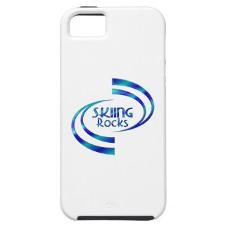 Skiing Rocks iPhone 5 Case