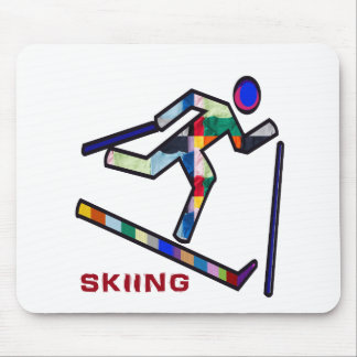 SKIING SPORTS Competition Mouse Pad