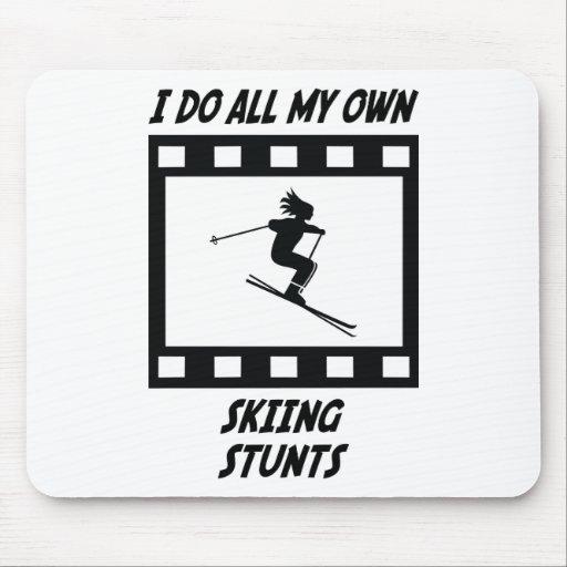 Skiing Stunts Mouse Mats