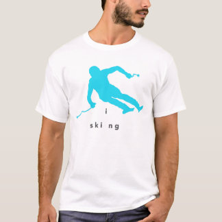 Skiing T Shirt