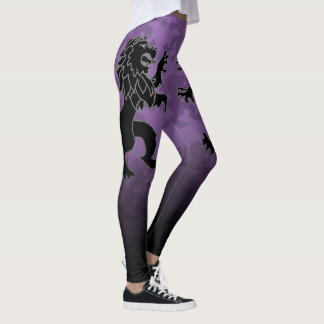SKILLHAUSE - BLACK LION FADE LEGGINGS