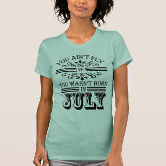 SKILLHAUSE - FLY IN JULY v2 (BLACK LETTER) T-Shirt