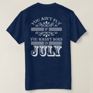 SKILLHAUSE - FLY IN JULY (WHITE LETTER) T-Shirt