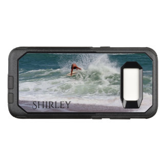 Skimboarding by Shirley Taylor OtterBox Commuter Samsung Galaxy S8 Case