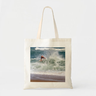 Skimboarding by Shirley Taylor Tote Bag
