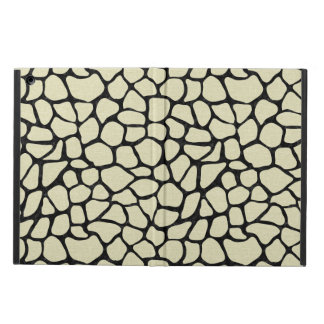 SKIN1 BLACK MARBLE & BEIGE LINEN CASE FOR iPad AIR