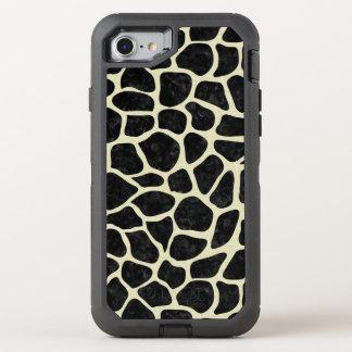 SKIN1 BLACK MARBLE & BEIGE LINEN (R) OtterBox DEFENDER iPhone 8/7 CASE