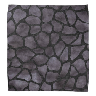 SKIN1 BLACK MARBLE & BLACK WATERCOLOR BANDANAS