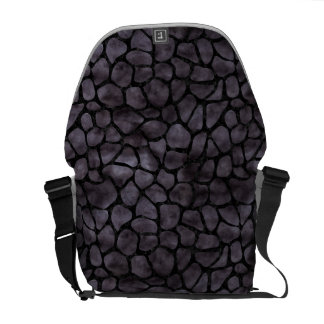 SKIN1 BLACK MARBLE & BLACK WATERCOLOR COMMUTER BAG