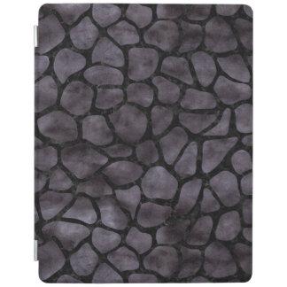 SKIN1 BLACK MARBLE & BLACK WATERCOLOR iPad COVER