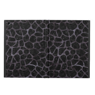 SKIN1 BLACK MARBLE & BLACK WATERCOLOR (R) iPad AIR CASE