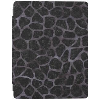 SKIN1 BLACK MARBLE & BLACK WATERCOLOR (R) iPad COVER