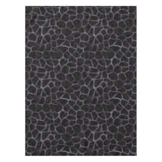 SKIN1 BLACK MARBLE & BLACK WATERCOLOR (R) TABLECLOTH