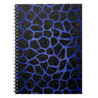 SKIN1 BLACK MARBLE & BLUE BRUSHED METAL (R) NOTEBOOKS