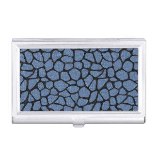 SKIN1 BLACK MARBLE & BLUE DENIM BUSINESS CARD HOLDER