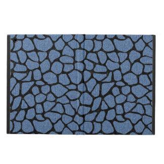 SKIN1 BLACK MARBLE & BLUE DENIM iPad AIR COVER