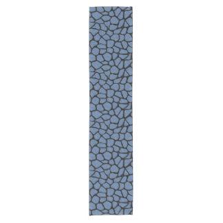 SKIN1 BLACK MARBLE & BLUE DENIM SHORT TABLE RUNNER