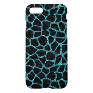 SKIN1 BLACK MARBLE & BLUE-GREEN WATER (R) iPhone 8/7 CASE