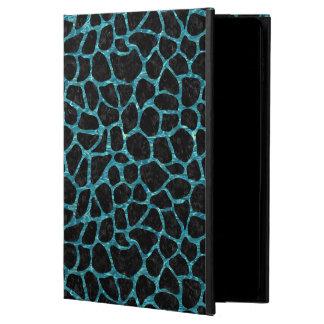 SKIN1 BLACK MARBLE & BLUE-GREEN WATER (R) POWIS iPad AIR 2 CASE