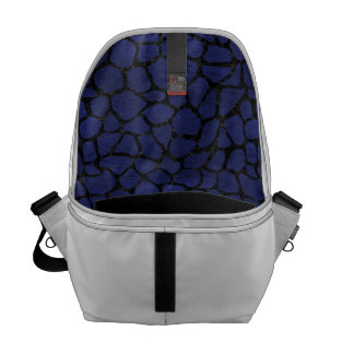 SKIN1 BLACK MARBLE & BLUE LEATHER COMMUTER BAGS