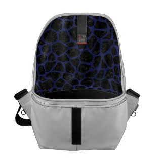 SKIN1 BLACK MARBLE & BLUE LEATHER (R) COMMUTER BAGS