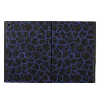 SKIN1 BLACK MARBLE & BLUE LEATHER (R) iPad AIR CASE