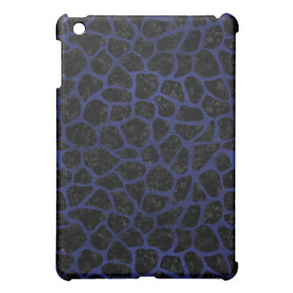 SKIN1 BLACK MARBLE & BLUE LEATHER (R) iPad MINI COVER