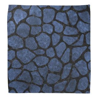 SKIN1 BLACK MARBLE & BLUE STONE BANDANA