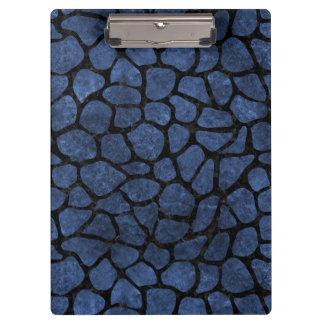 SKIN1 BLACK MARBLE & BLUE STONE CLIPBOARDS
